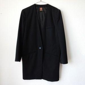 Anne Klein blazer coat